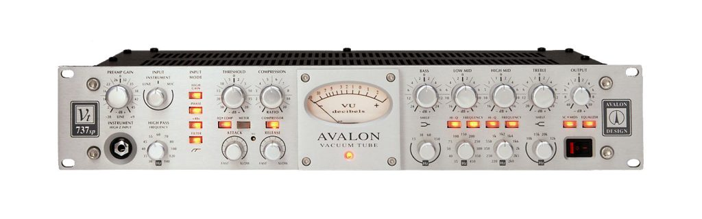 Avalon-VT-737 pre amp for voice over