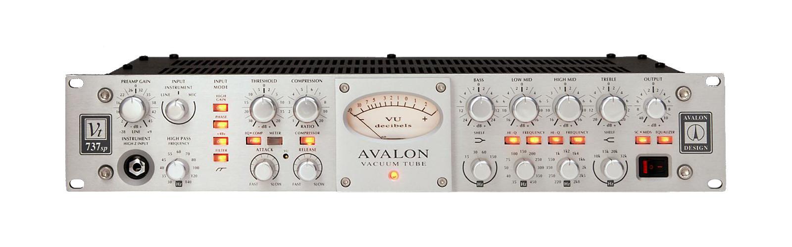 Avalon-VT-737 pre amp for voice over