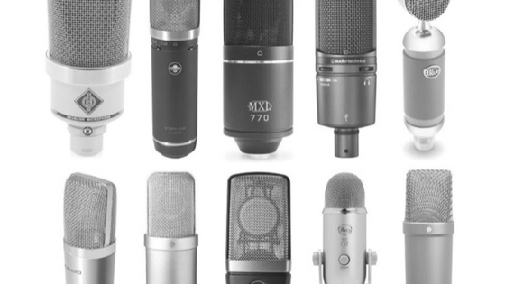 setting up a home voice over studio