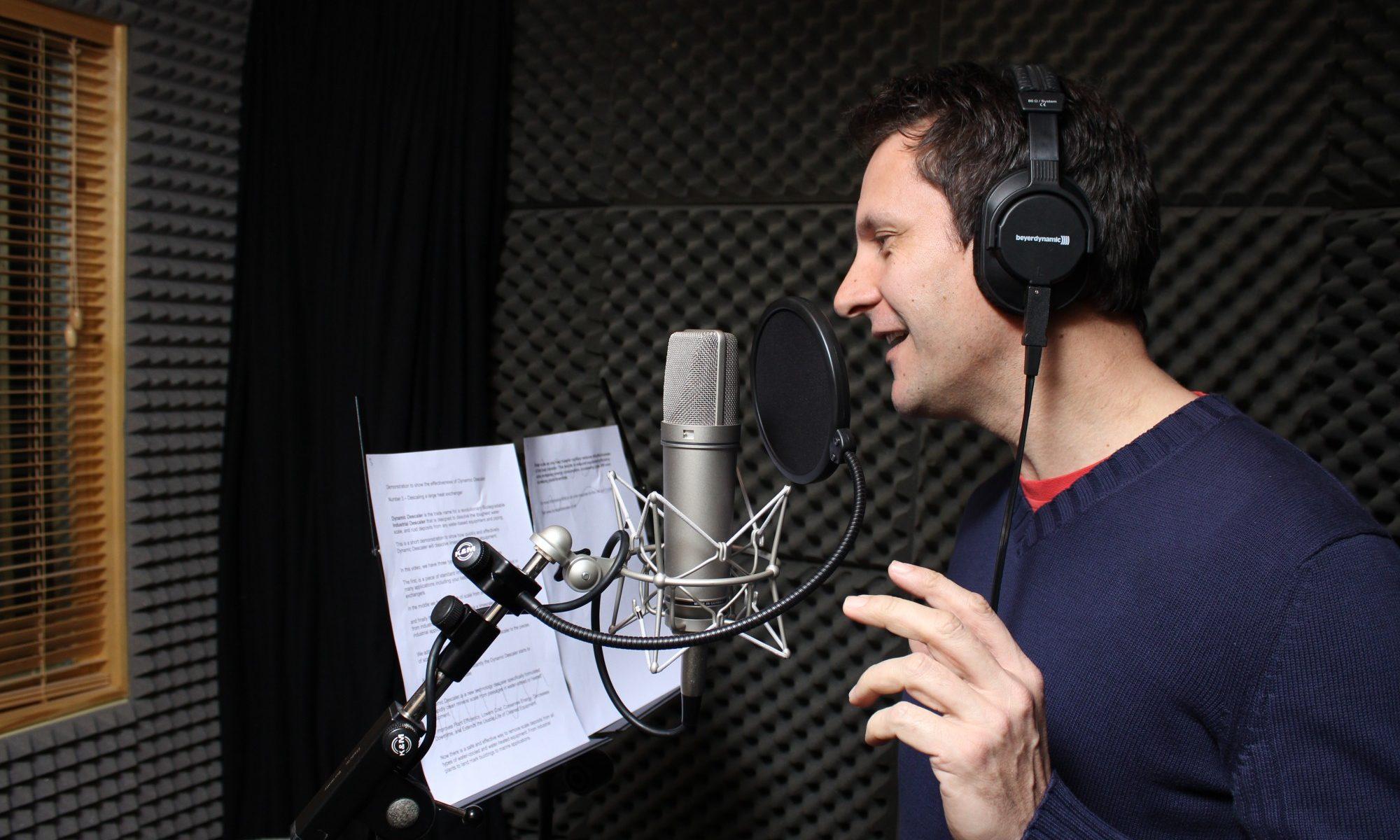 voice over home studio setup