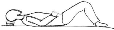 semi supine